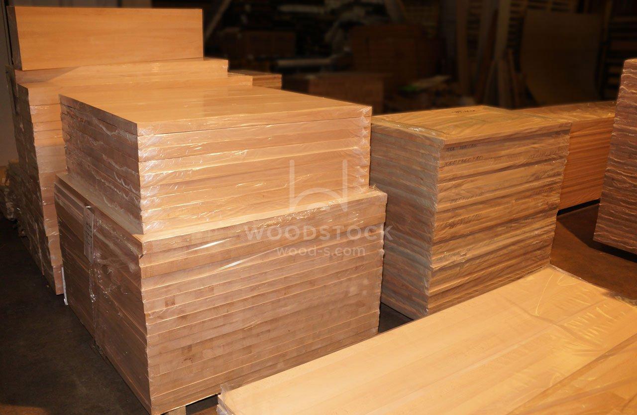 Мебельный щит из бука Цельноламельный А/В 40х1200х2500